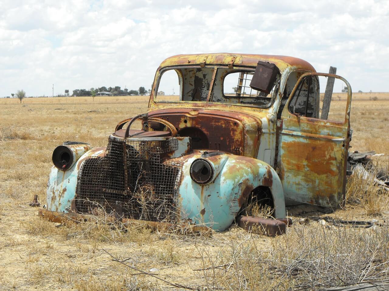 Rost entfernen Auto
