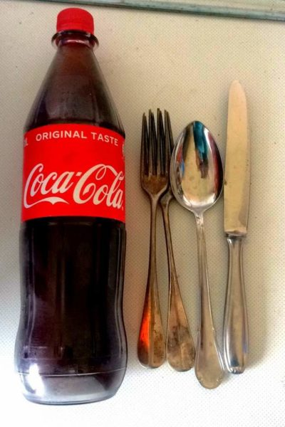 Rost entfernen mit Cola
